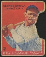 1933 Goudey #149 Babe Ruth RC