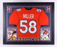 """Von Miller Signed Broncos 35"""" x 43"""" Custom Framed Jersey (JSA COA) at PristineAuction.com"""