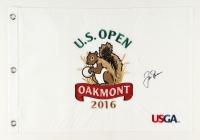 Jack Nicklaus Signed 2016 U.S. Open Pin Flag (JSA ALOA)