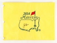Jack Nicklaus Signed 2014 Masters Pin Flag (JSA ALOA)