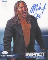 "Matt Hardy Signed 8x10 Photo Inscribed ""CB"" (JSA)"