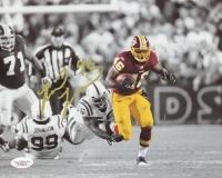 Ryan Torain Signed Redskins 8x10 Photo (JSA Hologram) at PristineAuction.com