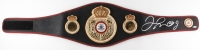 Floyd Mayweather Jr. Signed Full-Size WBA Championship Belt (Beckett Witnessed COA)