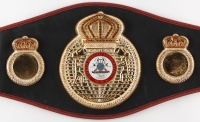 Floyd Mayweather Jr. Signed Full-Size WBA Championship Belt (Beckett Witnessed COA) at PristineAuction.com