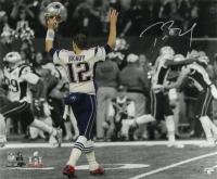 Tom Brady Signed New England Patriots Super Bowl LI 20x24 Limited Edition Photo (Steiner COA & TriStar Hologram) at PristineAuction.com