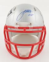 James White Signed Patriots Super Bowl LI Speed Mini-Helmet (Fanatics Hologram) at PristineAuction.com