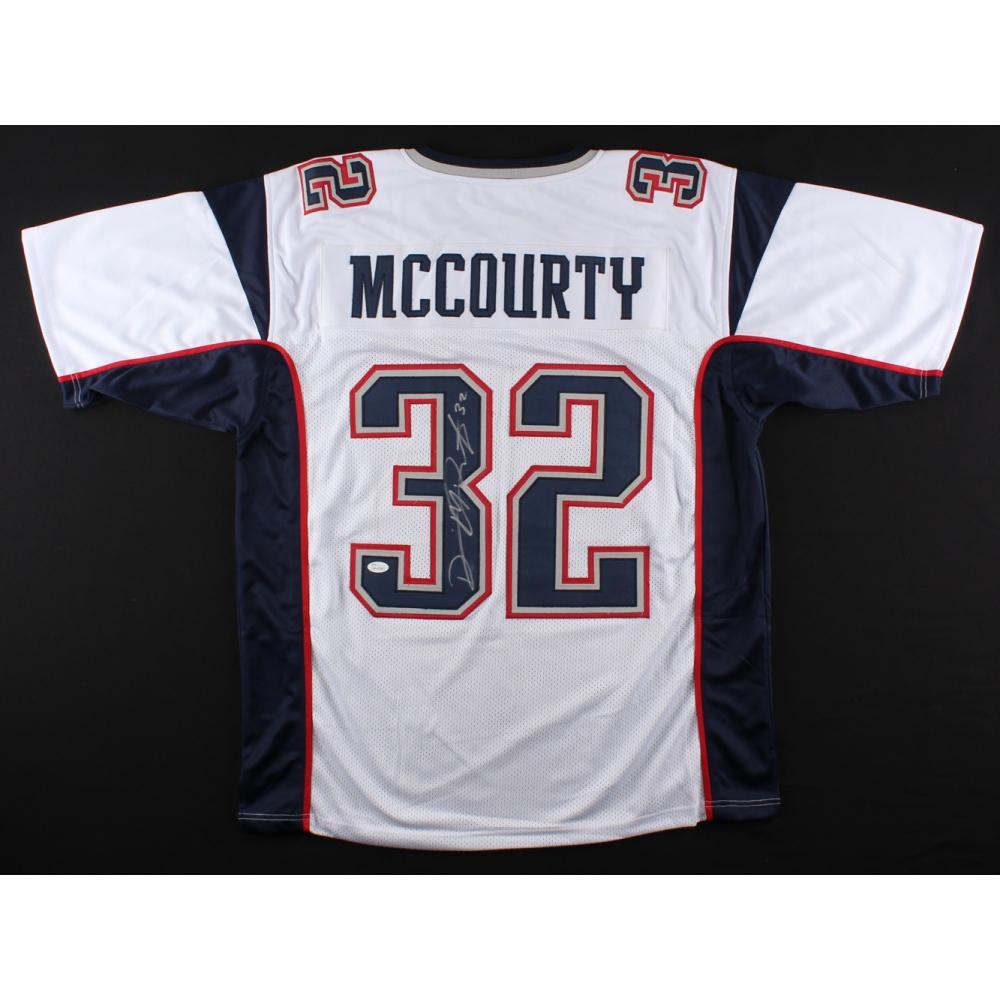 Devin McCourty Signed Patriots Jersey (JSA COA)   Pristine Auction