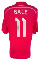 Gareth Bale Signed 2014-15 Real Madrid Soccer Jersey (Icons COA)