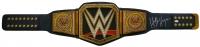 Hulk Hogan Signed WWE Championship Title Belt (JSA COA)