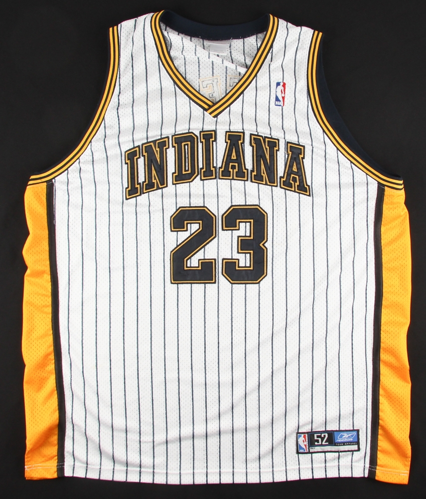 85b9fa69c57d Ron Artest Signed Pacers Jersey (JSA COA) at PristineAuction.com