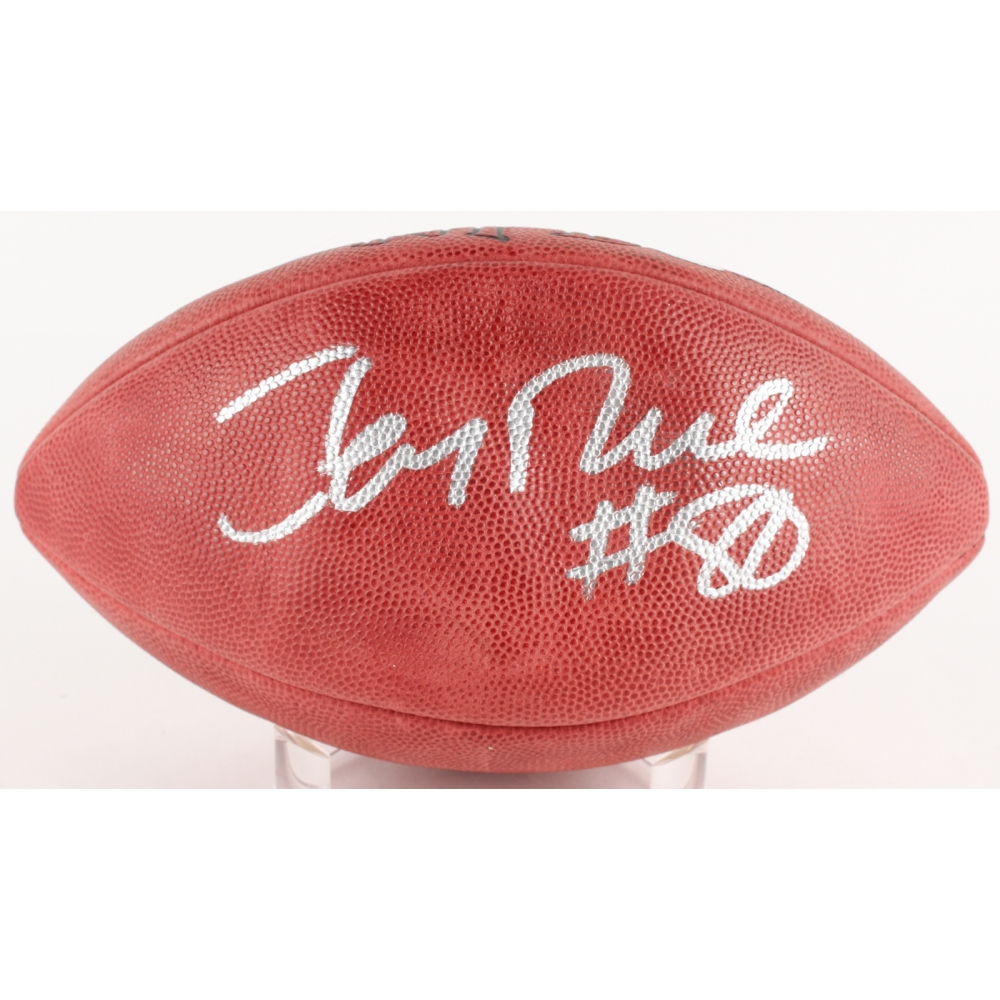 4415cbbec Jerry Rice Signed Official NFL Game Ball (Steiner & Official Jerry Rice  Hologram)