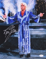 "Ric Flair ""Nature Boy"" Signed 11x14 Photo (JSA COA)"