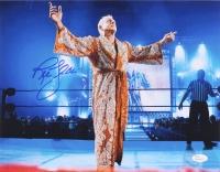 "Ric Flair ""Nature Boy"" Signed 11x14 Photo (JSA COA)"
