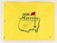 Ian Woosnam Signed 2016 Masters Golf Pin Flag (Beckett COA) at PristineAuction.com