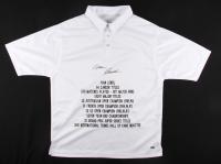 Ivan Lendl Signed Career Highlight Stat Jersey (MAB)
