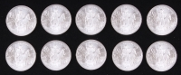 Lot of (10) Prospector 1 Troy Oz. Fine Silver Rounds