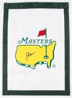 Jack Nicklaus Signed 2016 Masters Pin Flag (JSA LOA)