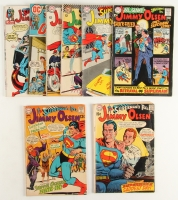 Lot of (8) DC Vintage Superman's Pal Jimmy Olsen Comic Books with 1969 #125, 1969 #118, 1968 #113, 1967 #100, 1966 #96, 1966 #91, 1972 #152 & 1972 #148