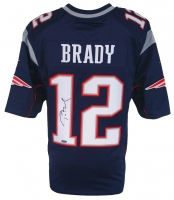 Tom Brady Signed New England Patriots Nike Jersey (TriStar Hologram)