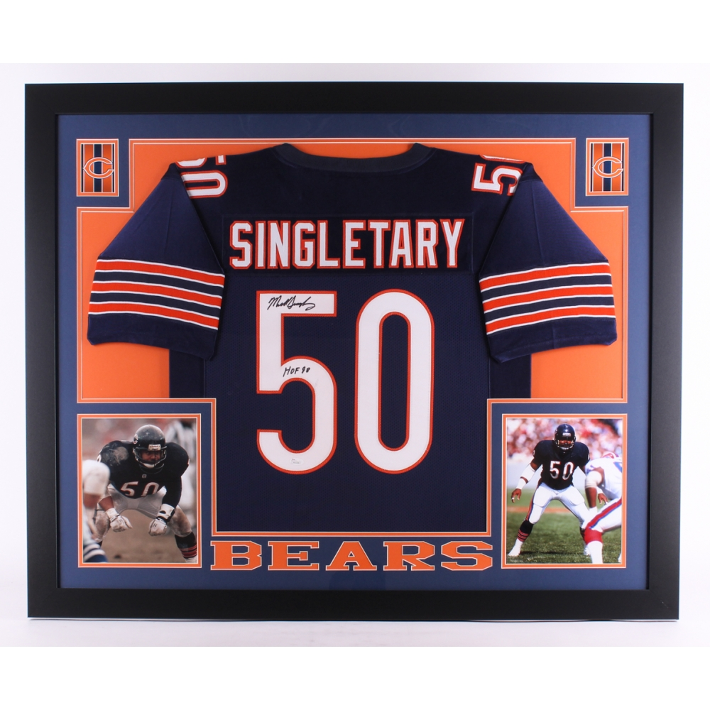 38d5cdec61a ... Mike Singletary Chicago Bears Fanatics Authentic Autographed 2000 Fleer  37 Card with HOF 98 Inscription Online Sports Memorabilia Auction Pristine  ...