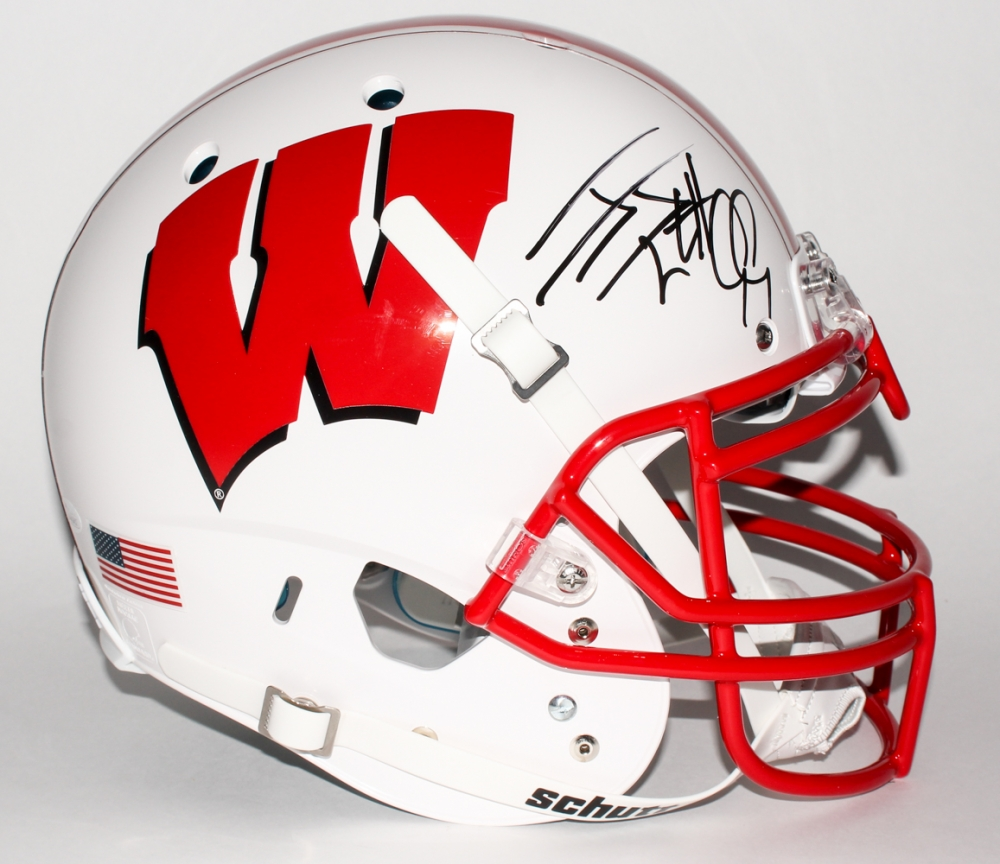 121d70fd3ba J. J. Watt Signed Wisconsin Badgers Full-Size Authentic Helmet (JSA COA) at  PristineAuction