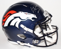 Peyton Manning Signed Broncos Full-Size Authentic Speed Helmet (Fanatics Hologram)
