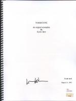 """Val Kilmer Signed """"Tombstone"""" Full Script (JSA Witnessed COA)"""