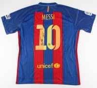 Lionel Messi Signed Nike Barcelona Jersey (PSA LOA)