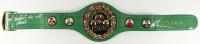 "Mike Tyson Signed Full-Size WBC Heavyweight Championship Belt Inscribed ""Baddest Man on the Planet"" (PSA COA)"
