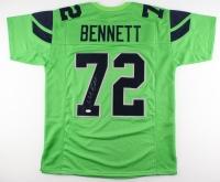 Michael Bennett Signed Seahawks Jersey (JSA COA)