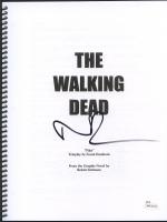 "Norman Reedus Signed ""The Walking Dead"" Pilot Episode Full Script (JSA Witnessed COA)"