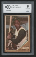 1962 Topps #10 Roberto Clemente (BCCG 8)
