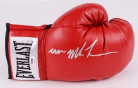 "Mike Tyson Signed Everlast Boxing Glove Signed ""Iron Mike Tyson"" (PSA COA)"