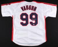 "Charlie Sheen Signed Major League ""Vaughn"" Indians Jersey (PSA COA)"
