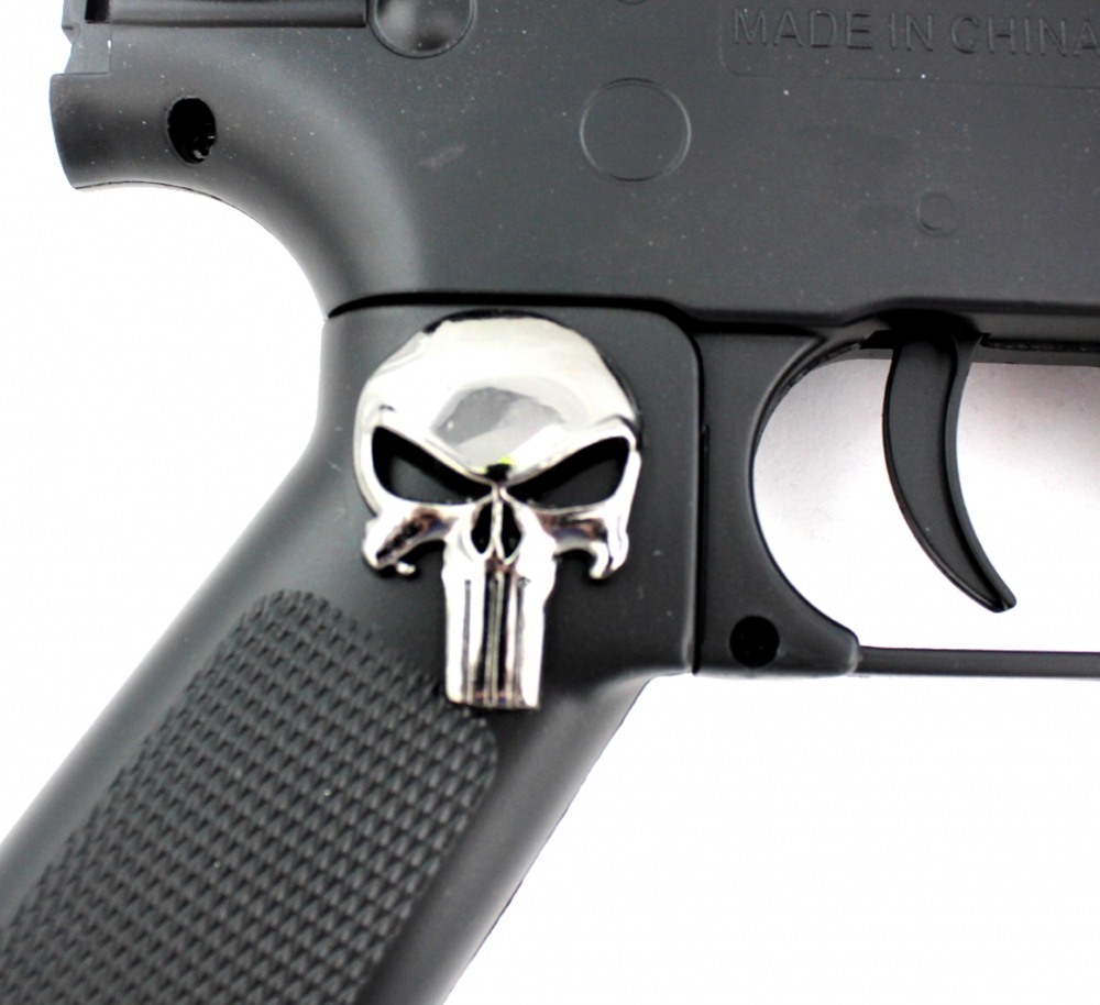 Online sports memorabilia auction pristine auction jon bernthal signed full size punisher replica assault rifle airsoft gun with hand publicscrutiny Gallery