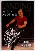 "Scott Hamilton Signed ""Landing It: My Life On and Off the Ice"" Hardback Book (JSA COA)"