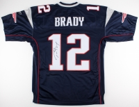 Tom Brady Signed Patriots Authentic Reebok On-Field Jersey (JSA ALOA)