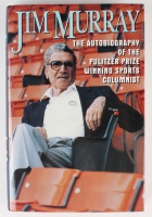 "Jim Murray Signed ""Jim Murray: An Autobiography"" Hardback Book with Extensive Inscription (JSA COA)"