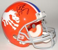 Peyton Manning Signed Broncos Throwback Full-Size Authentic Helmet (Fanatics Hologram)