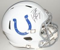 Peyton Manning Signed Colts Full-Size Speed Helmet (Fanatics Hologram)