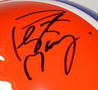 Peyton Manning Signed Broncos Throwback Full-Size Helmet (Fanatics Hologram) at PristineAuction.com