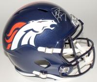 Peyton Manning Signed Broncos Full-Size Helmet (Fanatics Hologram) at PristineAuction.com
