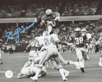 """Billy Sims Signed Detroit Lions """"Karate Kick"""" 8x10 Photo (Gridiron COA) at PristineAuction.com"""
