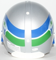 "Steve Largent Signed Seahawks Throwback Full-Size Authentic Helmet Inscribed ""HOF 95"" (JSA COA) at PristineAuction.com"
