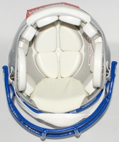 "Steve Largent Signed Seahawks Throwback Full-Size Authentic Helmet Inscribed ""HOF 95"" (JSA COA) at PristineAuction.com"