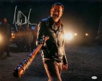 """Jeffrey Dean Morgan Signed """"The Walking Dead"""" 16x20 Photo (JSA COA)"""