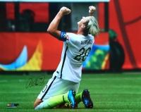 Abby Wambach Signed 2015 World Cup 16x20 Photo (JSA COA)