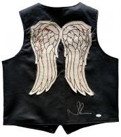 Norman Reedus Signed The Walking Dead Vest (JSA COA)