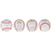 2016 Cubs World Series Champions Baseball Team-Signed by (9) with Kris Bryant, Anthony Rizzo, Jake Arrieta, Kyle Hendricks, Javier Baez (MLB Hologram & Fanatics Hologram)