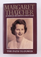 "Margaret Thatcher Signed ""the Path to Power"" Hardback Book (JSA COA)"